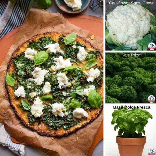 cauliflower pizza for Meatless Monday Recipes with AAS Winners