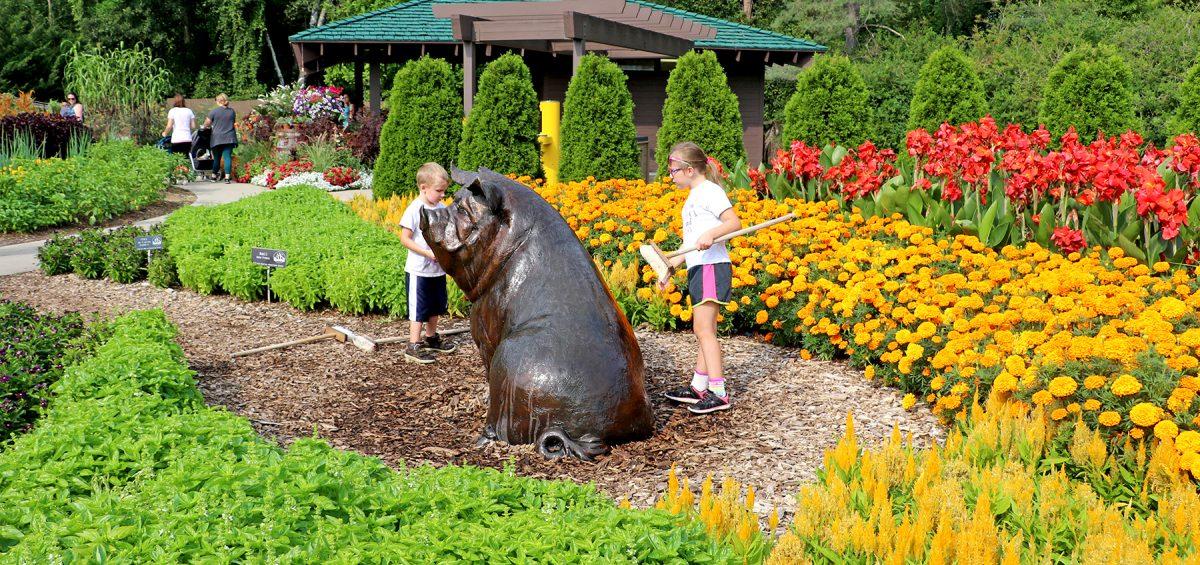 Dow Gardens - winner of AAS Display Garden Challenge