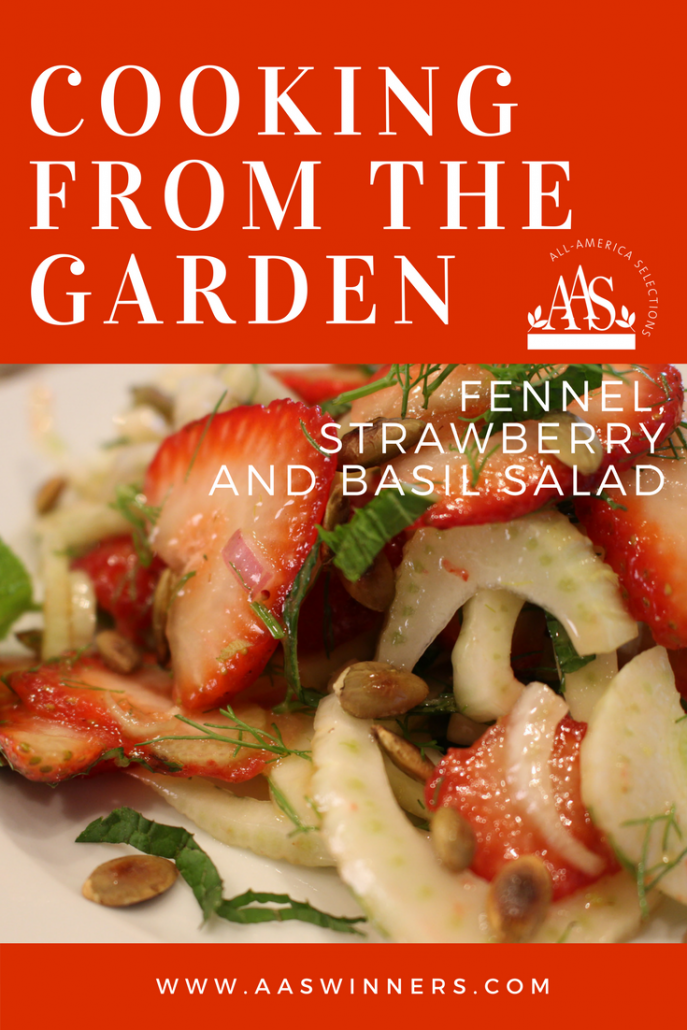 fennel strawberry salad