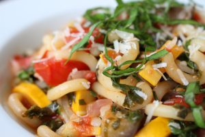 Minestrone Pasta with AAS Winners - All-America Selections