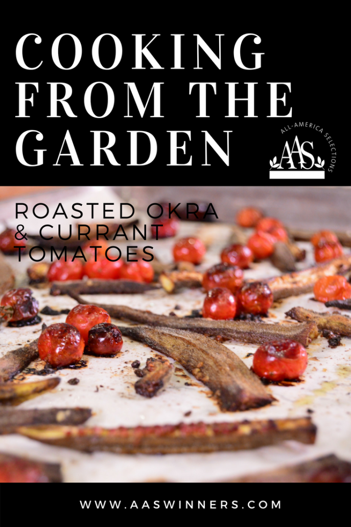 okra, tomatoes, All-America Selections, AAS Winner