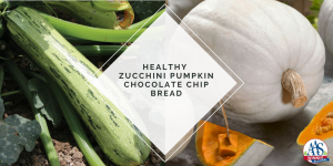 Healthy Zucchini Pumpkin Quick Bread - Made with AAS Winners