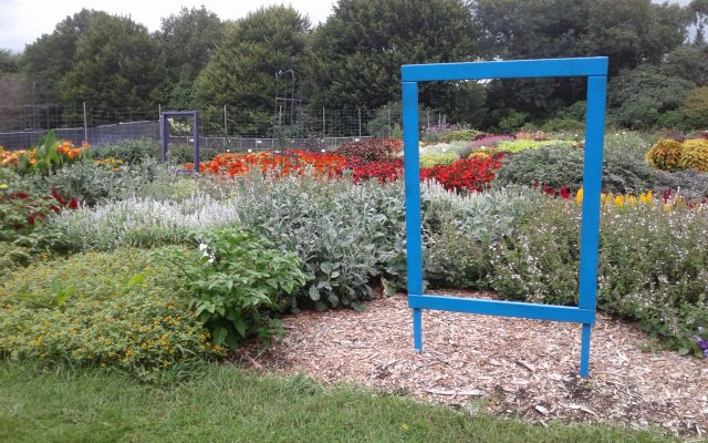 """Category III Honorable Mention """"Quilting Theme"""": Boerner Botanical Gardens, Hales Corners, Wisconsin - 2018 AAS Display Garden Challenge"""