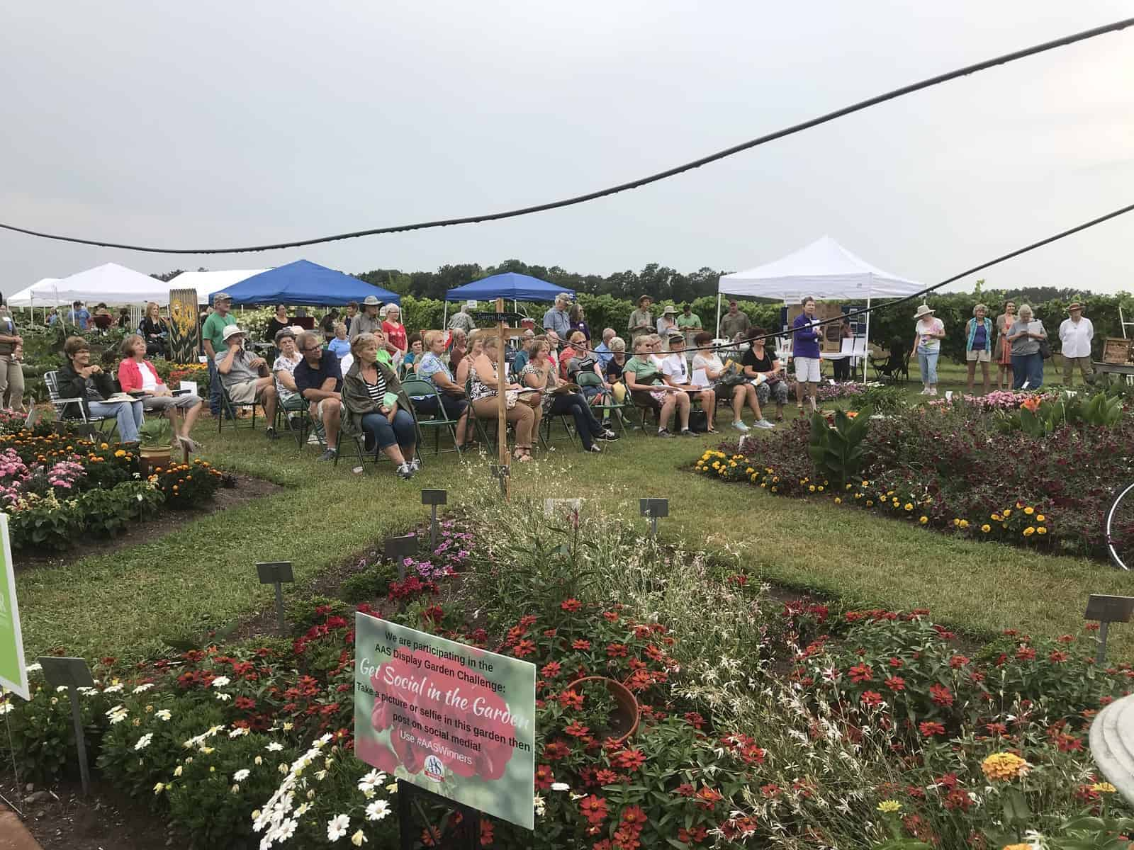"Honorable Mention, ""Community/Group Involvement"": UW Spooner Ag Research Station Teaching and Display Garden, Spooner, Wisconsin - 2018 AAS Display Challenge"