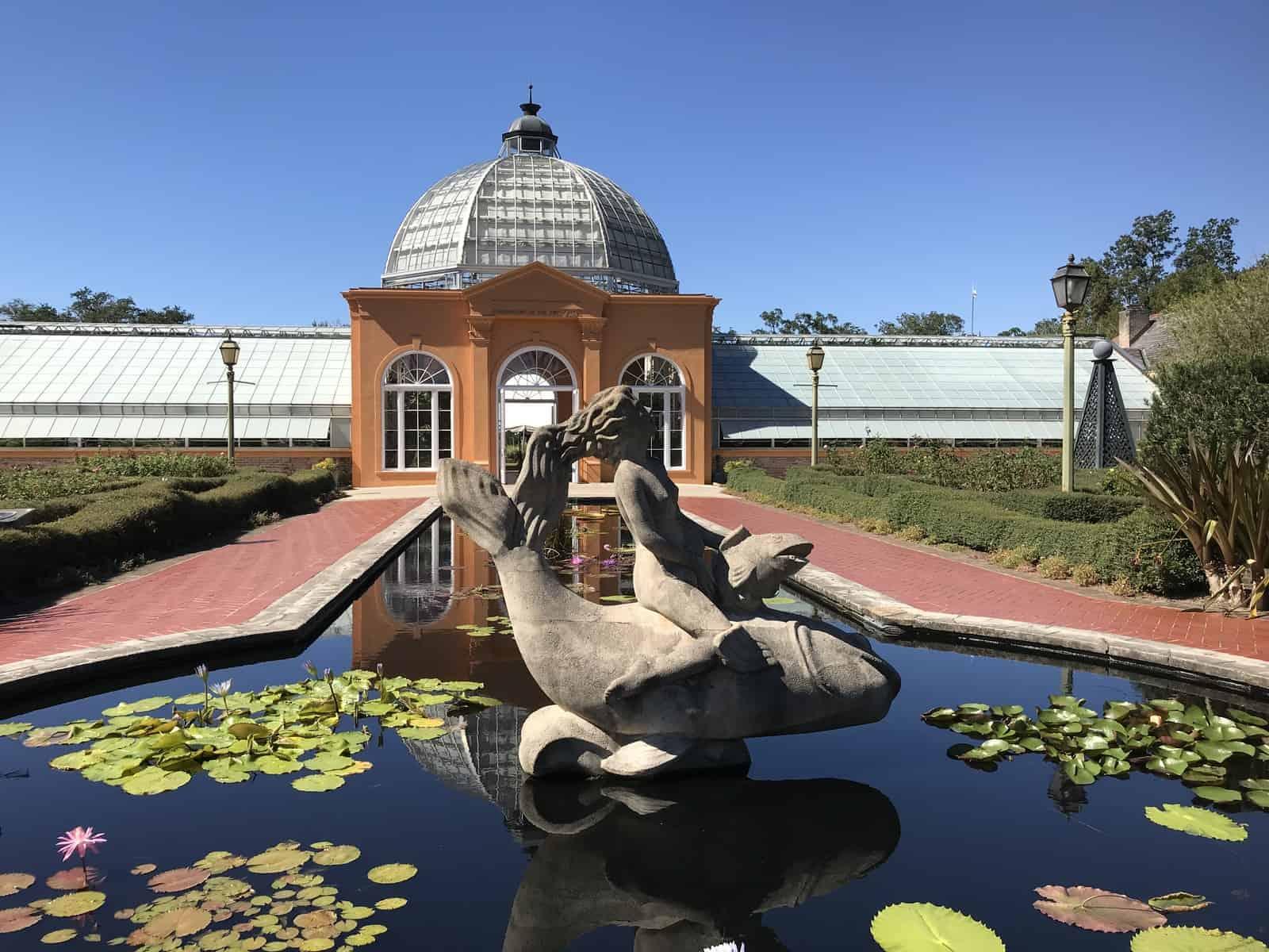 New Orleans Botanical Garden - AAS Winner Display Garden