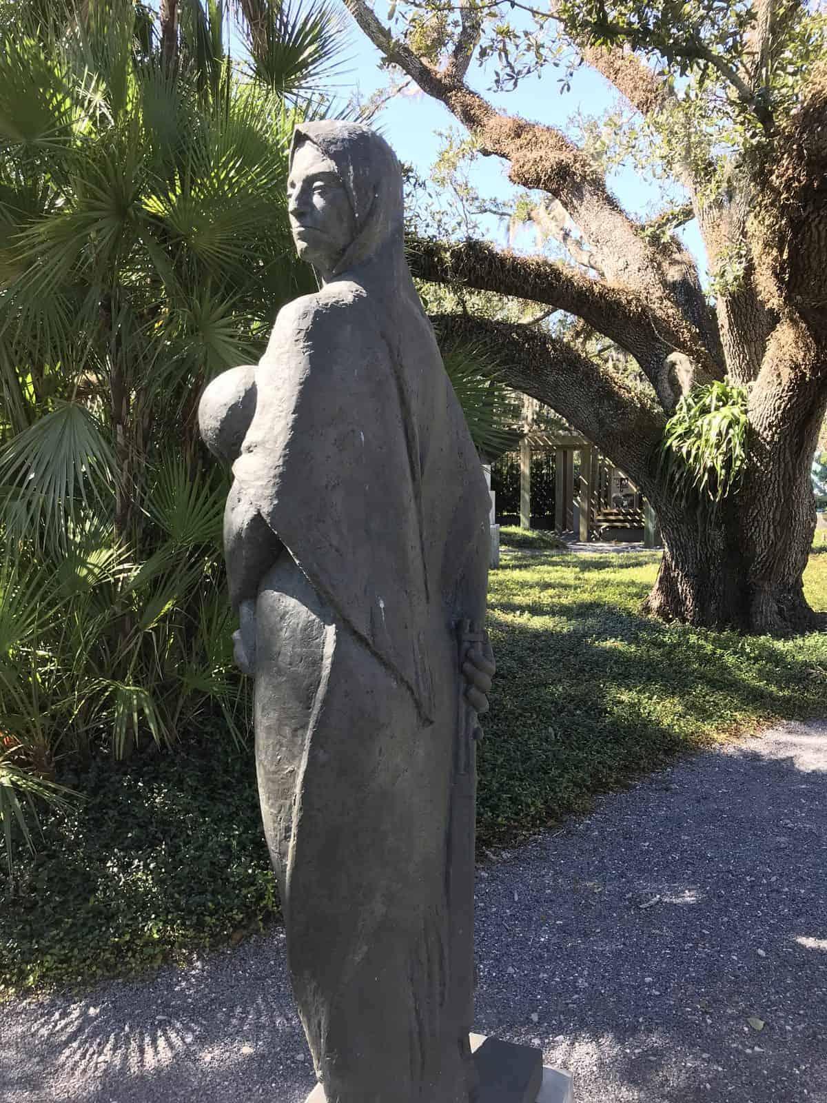 Sculpture in The Helis Foundation Enrique Alférez Sculpture Garden New Orleans Botanical Garden - AAS Display Garden