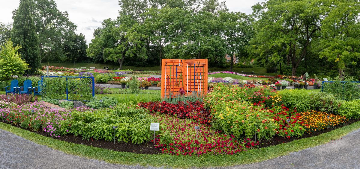 Second Place Winner: Norseco at Montreal Botanical Garden, Montreal, Quebec, Canada - All-America Selections 2019 Display Garden Challenge
