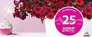 Celebrate Wave Petunias 25th Birthday with All-America Selection Wave Petunias