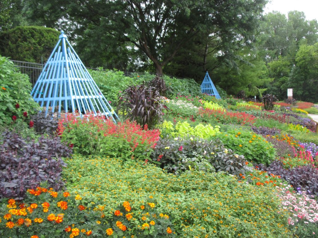 Rotary Botanical Gardens, Janesville WI filled with AAS Winners