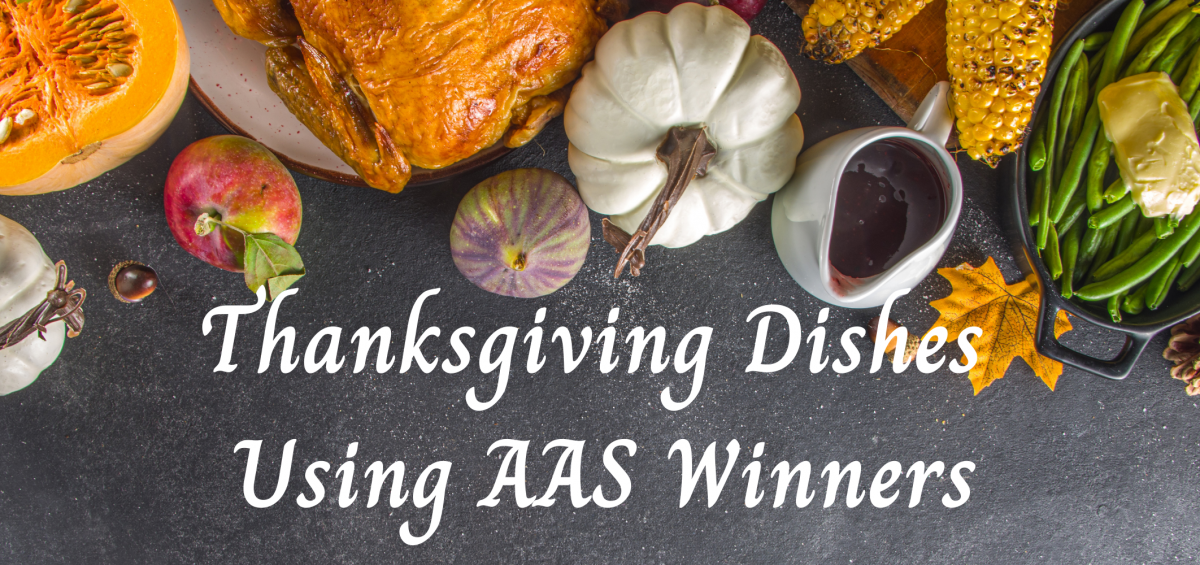 Thanksgiving Dishes Using AAS Winners - All-America Selections