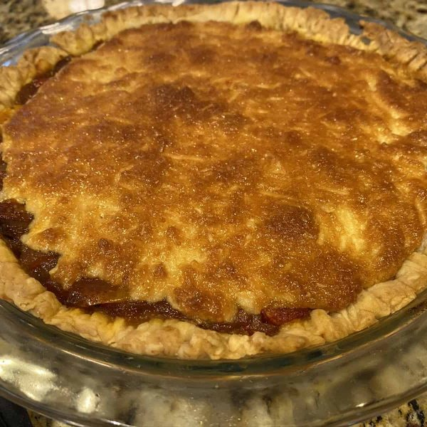 The finished baked tomato pie using AAS Winning Tomatoes   All-America Selections