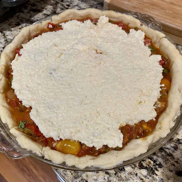 Making a tomato pie with AAS Winners   All-America Selections
